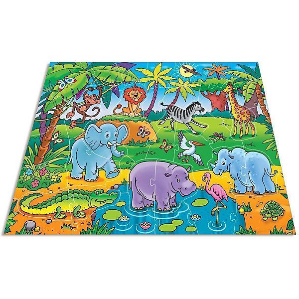 Мозаика для малышей.В АфрикеПазлы для малышей<br>Характеристики:<br><br>• тип игрушки: настольная игра;<br>• комплектация: 40 больших деталей;                                                                <br>• возраст: от 4 лет;<br>• размер: 16,5x27,5х5 см;<br>• издатель: Дрофа;<br>• упаковка: картонная коробка;<br>• материал: картон.<br><br>Игра «Мозаика для малышей. В Африке» разработана для детей от 4 лет. Современные, яркие, оригинальные рисунки и крупные элементы мозаики обязательно привлекут внимание детей. Ребёнок научится складывать сюжетную картинку из нескольких частей и подбирать подходящие по форме недостающие фрагменты рисунка. Набор состоит из 40 элементов разнообразной формы, соединяющиеся пазловыми замками.<br><br>Игра развивает зрительное восприятие, логическое мышление и мелкую моторику. Среди кусочков мозаики встречаются и цельные фигурки животных. Картинку удобно собирать, сидя на полу или за столом. Времяпрепровождение станет не только увлекательным, но и полезным.<br><br>Игру «Мозаика для малышей. В Африке»  можно купить в нашем интернет-магазине.<br>Ширина мм: 265; Глубина мм: 275; Высота мм: 50; Вес г: 580; Возраст от месяцев: 48; Возраст до месяцев: 2147483647; Пол: Унисекс; Возраст: Детский; SKU: 7323627;