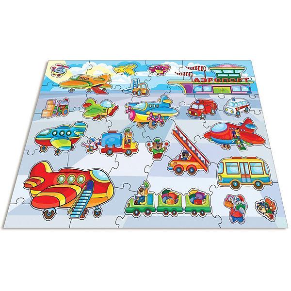 Мозаика для малышей.В аэропортуПазлы для малышей<br>Характеристики:<br><br>• тип игрушки: настольная игра;<br>• комплектация: 43 больших детали;                                                                <br>• возраст: от 4 лет;<br>• размер: 16,5x27,5х5 см;<br>• издатель: Дрофа;<br>• упаковка: картонная коробка;<br>• материал: картон.<br><br>Игра «Мозаика для малышей. В аэропорту» разработана для детей от 4 лет. Современные, яркие, оригинальные рисунки и крупные элементы мозаики обязательно привлекут внимание детей. Ребёнок научится складывать сюжетную картинку из нескольких частей и подбирать подходящие по форме недостающие фрагменты рисунка. <br><br>Игра развивает зрительное восприятие, логическое мышление и мелкую моторику.  Картинку удобно собирать, сидя на полу или за столом. Большие фрагменты рассчитаны на малышей и не потеряются. Времяпрепровождение станет не только увлекательным, но и полезным.<br><br>Игру «Мозаика для малышей. В аэропорту»  можно купить в нашем интернет-магазине.<br>Ширина мм: 265; Глубина мм: 275; Высота мм: 50; Вес г: 600; Возраст от месяцев: 36; Возраст до месяцев: 2147483647; Пол: Унисекс; Возраст: Детский; SKU: 7323628;