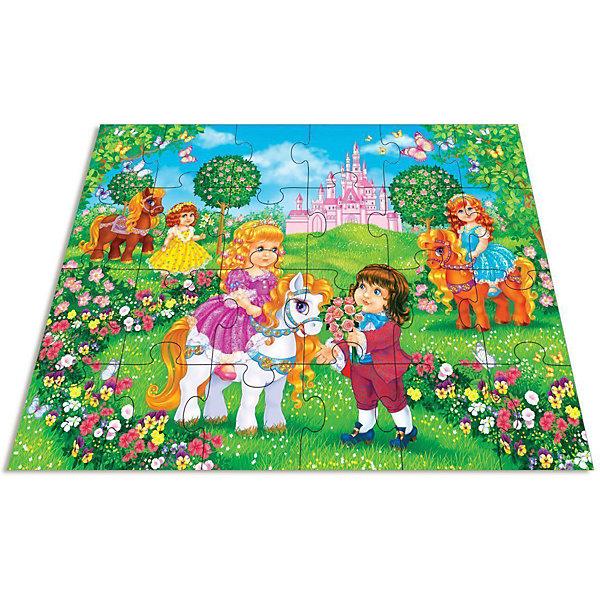 Мозаика для малышей.Принц и принцессаПазлы для малышей<br>Характеристики:<br><br>• тип игрушки: настольная игра;<br>• комплектация: 24 больших детали;                                                                <br>• возраст: от 3 лет;<br>• размер: 16,5x27,5х5 см;<br>• издатель: Дрофа;<br>• упаковка: картонная коробка;<br>• материал: картон.<br><br>Игра «Мозаика для малышей. Принц и принцесса» разработана для детей от 3 лет. Современные, яркие, оригинальные рисунки и крупные элементы мозаики обязательно привлекут внимание детей. Ребёнок научится складывать сюжетную картинку из нескольких частей и подбирать подходящие по форме недостающие фрагменты рисунка. <br><br>Игра развивает зрительное восприятие, логическое мышление и мелкую моторику. Картинку удобно собирать, сидя на полу или за столом. Большие фрагменты рассчитаны на малышей и не потеряются. Времяпрепровождение станет не только увлекательным, но и полезным. Серия игр включает в себя разные тематики, поэтому можно собрать коллекцию.<br><br>Игру «Мозаика для малышей. Принц и принцесса»  можно купить в нашем интернет-магазине.<br>Ширина мм: 265; Глубина мм: 275; Высота мм: 50; Вес г: 675; Возраст от месяцев: 36; Возраст до месяцев: 2147483647; Пол: Унисекс; Возраст: Детский; SKU: 7323631;