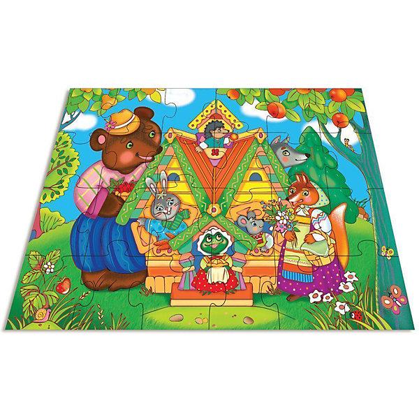 Мозаика для малышей.ТеремокПазлы для малышей<br>Характеристики:<br><br>• тип игрушки: настольная игра;<br>• комплектация: 24 больших детали;                                                                <br>• возраст: от 3 лет;<br>• размер: 16,5x27,5х5 см;<br>• издатель: Дрофа;<br>• упаковка: картонная коробка;<br>• материал: картон.<br><br>Игра «Мозаика для малышей. Теремок» разработана для детей от 3 лет. Современные, яркие, оригинальные рисунки и крупные элементы мозаики обязательно привлекут внимание детей. Ребёнок научится складывать сюжетную картинку из нескольких частей и подбирать подходящие по форме недостающие фрагменты рисунка. <br><br>Игра развивает зрительное восприятие, логическое мышление и мелкую моторику. Картинку удобно собирать, сидя на полу или за столом. Большие фрагменты рассчитаны на малышей и не потеряются. Времяпрепровождение станет не только увлекательным, но и полезным. Серия игр включает в себя разные тематики, поэтому можно собрать коллекцию.<br><br>Игру «Мозаика для малышей. Теремок»  можно купить в нашем интернет-магазине.<br><br>Ширина мм: 265<br>Глубина мм: 275<br>Высота мм: 50<br>Вес г: 580<br>Возраст от месяцев: 36<br>Возраст до месяцев: 2147483647<br>Пол: Унисекс<br>Возраст: Детский<br>SKU: 7323633