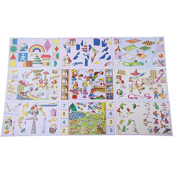 Набор карточек. Скоро в школуОбучающие карточки<br>Характеристики:<br><br>• тип игрушки: настольная игра;<br>• комплектация: 10 двусторонних карточек, брошюра с правилами и ответами;                                                                <br>• возраст: от 5 лет;<br>• размер: 28x17х3 см;<br>• издатель: Дрофа;<br>• упаковка: картонная коробка;<br>• материал: картон.<br><br>Игра «Набор карточек. Скоро в школу» разработана для детей от 5 лет. Важная особенность игры – карточки в наборе не являются самостоятельной игрой, а служат дополнением к электровикторине в коробке. К любой нашей электровикторине подходят наборы карточек от других игр этой серии. Поэтому можно купить  1 электровикторину и разные наборы карточек к ней.<br><br>Игра развивает наглядно-образное мышление, произвольное внимание, память, речь, расширяет кругозор. Играя, ребёнок учится рассуждать, сопоставлять, сравнивать, устанавливать простые закономерности, принимать самостоятельные решения и проверять правильность их выполнения, доказывать и обосновывать свой выбор.<br><br>Увлекательные задания электровикторины способствуют всестороннему развитию ребёнка и пробуждают интерес к знаниям, учат думать, сравнивать и рассуждать, принимать самостоятельные решения и обосновывать свой выбор. С помощью этой игры родители и воспитатели смогут оценить уровень подготовленности детей к школе.<br><br>В наборе представлены такие темы:<br>На что похожи фигуры?<br>Найди героев из одной сказки<br>Соедини части предметов<br>Кому нужны эти вещи?<br>Помоги спортсменам<br>Какие бывают эмоции?<br>Что перепутал художник?<br>Найди одинаковые узоры<br>Определи время года и время суток<br>Чем отличаются сходные картинки?<br>Сходство и различие<br>Сосчитай предметы<br>Сосчитай, сколько стало животных<br>Сколько осталось?<br>Соедини две части одного предмета и прочитай слово<br>Соедини две части предмета и прочитай слово<br>Соедини части предмета и прочитай слово<br>Найди спрятанные предметы<br>Соедини предметы с одинаковыми