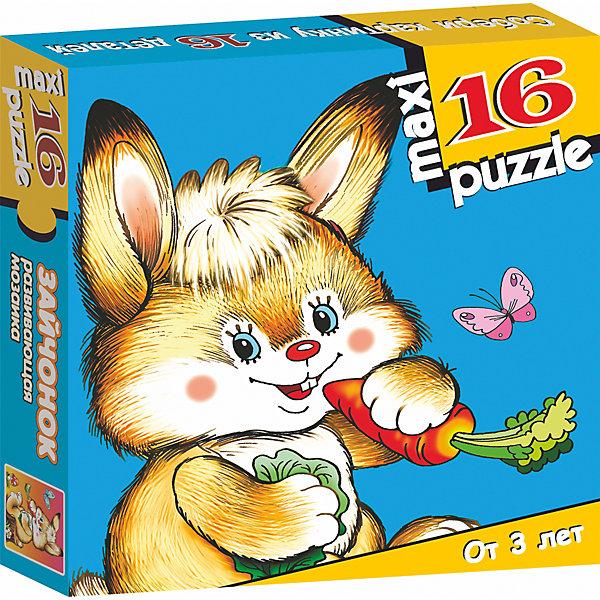 Развивающая мозаика. ЗайчонокПазлы для малышей<br>Характеристики:<br><br>• тип игрушки: настольная игра;<br>• комплектация: 16 деталей;                                                                <br>• возраст: от 3 лет;<br>• размер: 16,5x16,5х3 см;<br>• издатель: Дрофа;<br>• упаковка: картонная коробка;<br>• материал: картон.<br><br>Игра «Развивающая мозаика. Зайчонок» разработана для детей от 3 лет. Крупные и яркие детали мозаики привлекут внимание даже самых маленьких детей. Собирая картинку из 16 частей, малыш учится соотносить отдельные элементы и целое изображение, подбирать фрагменты по цвету и форме. <br><br>Игра развивает наблюдательность, усидчивость, зрительное восприятие. Постоянно манипулируя деталями мозаики, ребёнок совершенствует мелкую моторику рук. Кроме того, каждый малыш испытает восторг, доведя дело до конца. Крупные детали не потеряются и легко скрепляются между собой.<br><br>Игру «Развивающая мозаика. Зайчонок» можно купить в нашем интернет-магазине.<br><br>Ширина мм: 165<br>Глубина мм: 165<br>Высота мм: 30<br>Вес г: 165<br>Возраст от месяцев: 36<br>Возраст до месяцев: 2147483647<br>Пол: Унисекс<br>Возраст: Детский<br>SKU: 7323650