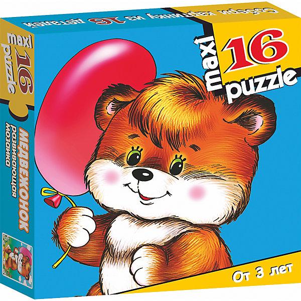 Развивающая мозаика. МедвежонокПазлы для малышей<br>Характеристики:<br><br>• тип игрушки: настольная игра;<br>• комплектация: 16 деталей;                                                                <br>• возраст: от 3 лет;<br>• размер: 16,5x16,5х3 см;<br>• издатель: Дрофа;<br>• упаковка: картонная коробка;<br>• материал: картон.<br><br>Игра «Развивающая мозаика. Медвежонок» разработана для детей от 3 лет. Крупные и яркие детали мозаики привлекут внимание даже самых маленьких детей. Собирая картинку из 16 частей, малыш учится соотносить отдельные элементы и целое изображение, подбирать фрагменты по цвету и форме. <br><br>Игра развивает наблюдательность, усидчивость, зрительное восприятие. Постоянно манипулируя деталями мозаики, ребёнок совершенствует мелкую моторику рук. Кроме того, каждый малыш испытает восторг, доведя дело до конца. Крупные детали не потеряются и легко скрепляются между собой.<br><br>Игру «Развивающая мозаика. Медвежонок» можно купить в нашем интернет-магазине.<br><br>Ширина мм: 165<br>Глубина мм: 165<br>Высота мм: 30<br>Вес г: 165<br>Возраст от месяцев: 36<br>Возраст до месяцев: 2147483647<br>Пол: Унисекс<br>Возраст: Детский<br>SKU: 7323654