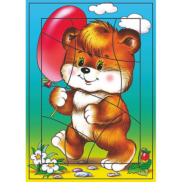 РР. Воздушный шарик(Медвежонок).Криволин разрез 10Пазлы для малышей<br>Характеристики:<br><br>• тип игрушки: настольная игра;<br>• комплектация: детали;                                                                <br>• возраст: от 3 лет;<br>• размер: 28,5x20х3 см;<br>• издатель: Дрофа;<br>• упаковка: картонная коробка;<br>• материал: картон.<br><br>Игра «РР. Воздушный шарик(Медвежонок).Криволин» разработана для детей от 3 лет. С разрезными картинками малыш научится подбирать подходящие по форме фрагменты рисунка и складывать их в целое изображение. Элементы мозаики выкладываются на рамку, которая поможет малышу видеть, что он делает правильно, а над чем ещё нужно подумать. Контуры деталей собираемой картинки, повторяющиеся на рамке, позволят не ошибиться в подборе правильного элемента, а картинка-подсказка поможет справиться с заданием самостоятельно.<br><br>Игры научат ребёнка усидчивости, умению доводить начатое дело до конца, помогут развить внимание, память, образное и логическое мышление, сенсорно-моторную координацию движения рук. Разная величина и форма собираемых элементов картинки способствуют развитию мелкой моторики, которая напрямую влияет на развитие речи и интеллектуальных способностей. В дальнейшем хорошая координация движений рук поможет ребёнку легко овладеть письмом. <br><br>Игру «РР. Воздушный шарик(Медвежонок).Криволин» можно купить в нашем интернет-магазине.<br><br>Ширина мм: 285<br>Глубина мм: 200<br>Высота мм: 3<br>Вес г: 120<br>Возраст от месяцев: 36<br>Возраст до месяцев: 2147483647<br>Пол: Унисекс<br>Возраст: Детский<br>SKU: 7323661