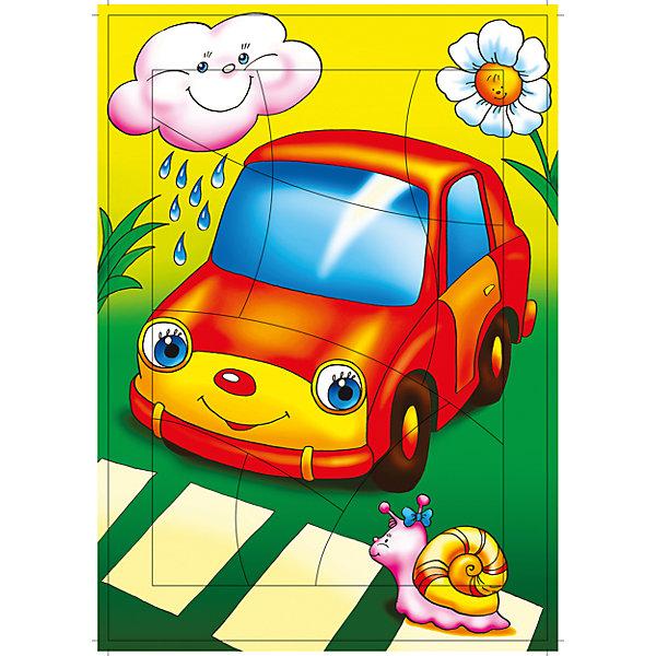 РР. Маленький автомобильчик (Машинка).Крив.разПазлы для малышей<br>Характеристики:<br><br>• тип игрушки: настольная игра;<br>• комплектация:  детали;                                                                <br>• возраст: от 3 лет;<br>• размер: 28,5x20х3 см;<br>• издатель: Дрофа;<br>• упаковка: картонная коробка;<br>• материал: картон.<br><br>Игра «РР. Маленький автомобильчик (Машинка).Крив» разработана для детей от 3 лет. С разрезными картинками малыш научится подбирать подходящие по форме фрагменты рисунка и складывать их в целое изображение. Элементы мозаики выкладываются на рамку, которая поможет малышу видеть, что он делает правильно, а над чем ещё нужно подумать. Контуры деталей собираемой картинки, повторяющиеся на рамке, позволят не ошибиться в подборе правильного элемента, а картинка-подсказка поможет справиться с заданием самостоятельно.<br><br>Игры научат ребёнка усидчивости, умению доводить начатое дело до конца, помогут развить внимание, память, образное и логическое мышление, сенсорно-моторную координацию движения рук. Разная величина и форма собираемых элементов картинки способствуют развитию мелкой моторики, которая напрямую влияет на развитие речи и интеллектуальных способностей. В дальнейшем хорошая координация движений рук поможет ребёнку легко овладеть письмом. <br><br>Игру «РР. Маленький автомобильчик (Машинка).Крив» можно купить в нашем интернет-магазине.<br><br>Ширина мм: 285<br>Глубина мм: 200<br>Высота мм: 3<br>Вес г: 120<br>Возраст от месяцев: 36<br>Возраст до месяцев: 2147483647<br>Пол: Унисекс<br>Возраст: Детский<br>SKU: 7323668