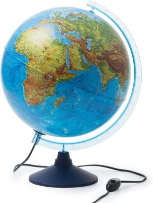 Globen Глобус Земли физико-политический с подсветкой 320мм