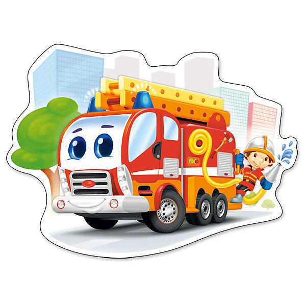 Пазл Castorland Maxi Пожарная машина, 12 деталейПазлы для малышей<br>Характеристики товара:<br><br>• возраст: от 3 лет;<br>• пол: для девочек и мальчиков;<br>• вид: контурный пазл-мозайка;<br>• количество элементов: 12 шт.;<br>• материал пазла: картон;<br>• размер картинки: 47х31 см.;<br>• размер упаковки: 32х22х4,7 см.;<br>• вес: 400 гр.;<br>• упаковка: картонная коробка;<br>• страна изготовитель: Польша.<br><br>Макси - пазл с изображением пожарной машины прекрасно подойдет для того, чтобы познакомить ребенка с этим занимательным видом головоломки. <br>Собирание пазлов развивает внимательность, усидчивость и концентрацию. Все детали выполнены из плотного картона, и поэтому сохранят первоначальный вид даже после длительного использования.<br><br>Пазл можно купить в нашем интернет-магазине.<br>Ширина мм: 320; Глубина мм: 220; Высота мм: 47; Вес г: 400; Возраст от месяцев: 36; Возраст до месяцев: 2147483647; Пол: Мужской; Возраст: Детский; SKU: 7327783;