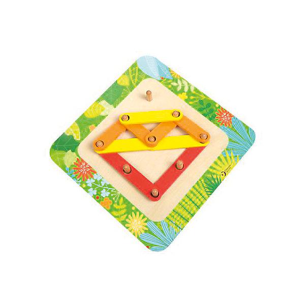 Обучающий пазл Classic World Играю и учуь3D пазлы<br>Характеристики:<br><br>• возраст: от 3 лет<br>• в наборе: игровое поле, 26 деталей, инструкция, мешочек для хранения<br>• размер игрового поля: 23,5х23,5 см.<br>• материал: дерево<br>• упаковка: коробка<br>• размер упаковки: 22х22х3 см.<br>• вес: 650 гр.<br><br>Обучающий пазл «Играю и учусь» - отличный способ увлекательно провести время и развить мелкую моторику рук, фантазию и пространственное мышление.<br><br>Пазл состоит из яркой доски со штырьками и множества разнообразных красочных деталей. Из деталей пазла можно создать разнообразные фигуры, цифры, буквы и объемные конструкции. В комплект также входит книжка-инструкция с заданиями в картинках.<br><br>Обучающий пазл «Играю и учусь» изготовлен из качественного дерева и окрашен нетоксичными, безопасными красками.<br><br>Обучающий пазл  Играю и учусь, Сlassic World (Классик Ворлд) можно купить в нашем интернет-магазине.<br><br>Ширина мм: 220<br>Глубина мм: 220<br>Высота мм: 30<br>Вес г: 75<br>Возраст от месяцев: 36<br>Возраст до месяцев: 2147483647<br>Пол: Унисекс<br>Возраст: Детский<br>SKU: 7327900