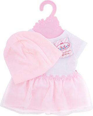 КАРАПУЗ Одежда для куклы Карапуз Платье и шапочка , 40-42 см