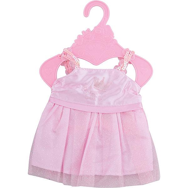 Одежда для куклы Карапуз Hello Kitty. Платье, 40-42 смОдежда для кукол<br>Характеристики товара:<br><br>• в комплекте: платье;<br>• высота куклы: 40-42 см;<br>• возраст: от 3 лет;<br>• материал: текстиль, пластик;<br>• размер упаковки: 2х30х22 см;<br>• страна бренда: Россия.<br><br>Комплект одежды порадует юную обладательницу куклы Карапуз. В комплект входит очаровательное розовое платье с поясом, украшенное блестками и пайетками. С таким платьем любая кукла станет настоящей модницей. Одежда предназначена для кукол высотой 40-42 сантиметра. Изделие выполнено из качественного, мягкого, приятного на ощупь трикотажа.<br><br>Комплект одежды для куклы «Карапуз» 40-42см, Карапуз можно купить в нашем интернет-магазине.<br>Ширина мм: 16; Глубина мм: 0; Высота мм: 19; Вес г: 80; Возраст от месяцев: 36; Возраст до месяцев: 84; Пол: Унисекс; Возраст: Детский; SKU: 7328034;