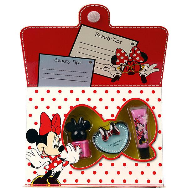 Minnie Игровой набор детской декоративной косметики для лица и ногтей