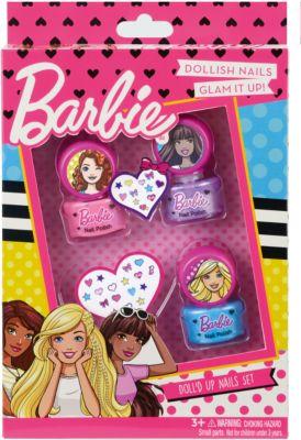 Markwins Barbie Игровой набор детской декоративной косметики для ногтей
