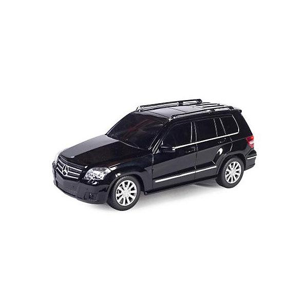 Радиоуправляемая машина Rastar Mercedes GLK 1:24, чернаяРадиоуправляемые машины<br>Характеристики:<br><br>• вес в упаковке: 430г.;<br>• материал:металл, пластик;<br>• тип батарейки: 5хАА (в комплект не входят)<br>• размер упаковки: 28,5х14х12см.;<br>• размер машины: 18,9х8,5х7см.;<br>• упаковка: картонная коробка;<br>• для детей в возрасте: от 6 лет.;<br>• страна производитель:Китай.<br><br>Радиоуправляемый Мерседес Бенс чёрного цвета бренда «RASTAR» (Рестар) будет прекрасным подарком для маленьких мальчишек. Это точная копия настоящей машины сделанная в масштабе 1 к 24. Она создана из высококачественных, экологически чистых материалов, что очень важно для детских товаров.<br><br>  Модель приводится в движение с помощью пульта управления, на котором находятся всего две кнопки, поэтому управлять машиной легко и просто. При движении вперёд или назад светятся фары. Игрушка рассчитана на двадцать пять минут непрерывной работы.<br><br>Ребёнок быстро научится управлять автомобилем применяя пульт уп<br>равления, будет ловко объезжать различные препятствия. В компании с друзьями или родителями устраивать настоящие гонки. Играя дети развивают фантазию, быстроту реакции, координацию движений, глазомер.<br><br>Радиоуправляемый Мерседес Бенс чёрного цвета, можно купить в нашем интернет-магазине.<br><br>Ширина мм: 285<br>Глубина мм: 140<br>Высота мм: 120<br>Вес г: 430<br>Возраст от месяцев: 72<br>Возраст до месяцев: 2147483647<br>Пол: Мужской<br>Возраст: Детский<br>SKU: 7330702