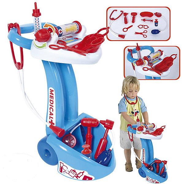 Игровой набор Palau Toys Доктор на тележке