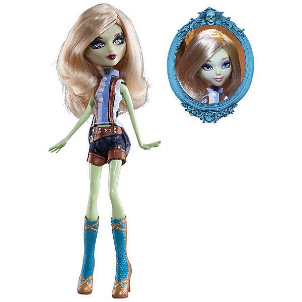 Кукла Playhut Mystixx Zombie Азра, 29 смКуклы<br>Характеристики товара:<br><br>• возраст: от 6 лет;<br>• материал: пластик, текстиль;<br>• в комплекте: кукла, парик, расческа;<br>• высота куклы: 29 см;<br>• размер упаковки: 33х30х8 см;<br>• вес упаковки: 833 гр.;<br>• страна производитель: Китай.<br><br>Кукла Мистикс зомби Азра выглядит как настоящий вампир. У нее светлая бледная кожа, белые волосы, видны зубки вампира. Волосы можно расчесывать гребешком, который входит в комплект. Дополнительный парик позволит сменить образ куклы. Необычной особенностью куклы является ее возможность менять облик. Стоит только повернуть ее голову, как она тут же меняется в лице. Благодаря проволочному каркасу и резиновому телу кукла принимает различные позы. Выполнена из качественных безопасных материалов.<br><br>Куклу Мистикс зомби Азра можно приобрести в нашем интернет-магазине.<br>Ширина мм: 300; Глубина мм: 80; Высота мм: 330; Вес г: 833; Возраст от месяцев: 72; Возраст до месяцев: 120; Пол: Женский; Возраст: Детский; SKU: 7331975;