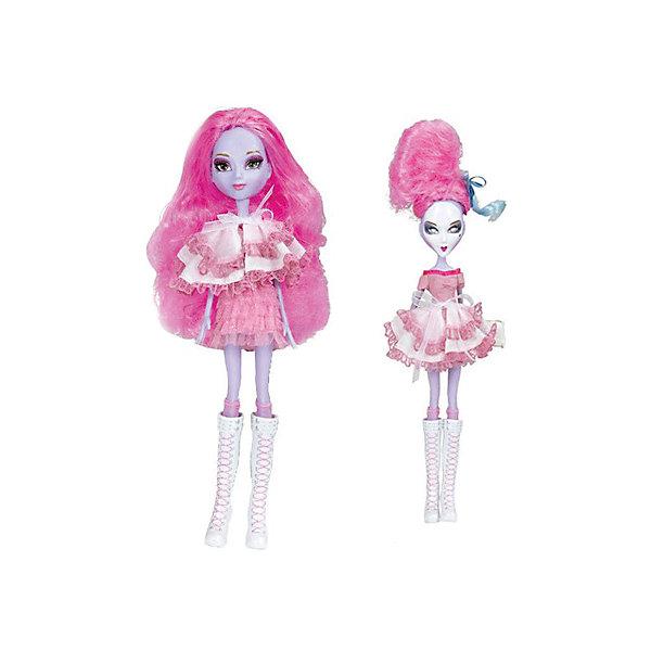 Кукла Playhut Mystixx Rococo Зомби Талин, 29 смКуклы<br>Характеристики товара:<br><br>• возраст: от 6 лет;<br>• материал: пластик, текстиль;<br>• в комплекте: кукла, аксессуары;<br>• высота куклы: 29 см;<br>• размер упаковки: 33х30х8 см;<br>• вес упаковки: 833 гр.;<br>• страна производитель: Китай.<br><br>Кукла Мистикс рококо зомби Азра — необычная куколка-вампир. У нее бледно-голубая кожа, розовые волосы. Одета она в стильном образе Рококо. Необычной особенностью куклы является ее возможность менять облик. Стоит только повернуть ее голову, как она тут же меняется в лице. Благодаря гибкому телу кукла принимает различные позы. Выполнена из качественных безопасных материалов.<br><br>Куклу Мистикс рококо зомби Азра можно приобрести в нашем интернет-магазине.<br>Ширина мм: 300; Глубина мм: 80; Высота мм: 330; Вес г: 833; Возраст от месяцев: 72; Возраст до месяцев: 120; Пол: Женский; Возраст: Детский; SKU: 7331979;