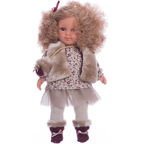 Купить Классическая кукла Llorens Елена в кофте и юбке, 35 см, Испания, Женский