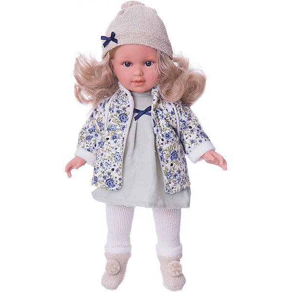 Классическая кукла Llorens Мартина в зеленом платье, 40 смБренды кукол<br>Характеристики товара:<br><br>• возраст: от 3 лет;<br>• материал: ПВХ, текстиль;<br>• высота куклы: 40 см;<br>• размер упаковки: 47х23х12 см;<br>• вес упаковки: 1,17 кг;<br>• страна производитель: Испания.<br><br>Кукла «Мартина в зеленом платье» Llorens — очаровательная девочка со светлыми волосами, одетая в платье, теплую кофточку, шапочку и носочки. У куклы мягкое  тело, выполненное из ПВХ. Благодаря шарнирам ноги и ручки куклы подвижны, голова крутится в разные стороны. Игра с куклой прививает малышке чувство заботы, ответственности. <br><br>Куклу «Мартина в зеленом платье» Llorens можно приобрести в нашем интернет-магазине.<br><br>Ширина мм: 230<br>Глубина мм: 120<br>Высота мм: 470<br>Вес г: 1170<br>Возраст от месяцев: 36<br>Возраст до месяцев: 84<br>Пол: Женский<br>Возраст: Детский<br>SKU: 7332028