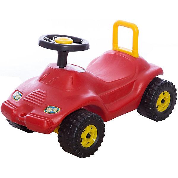 Машинка-каталка Спектр ГонкаМашинки-каталки<br>Автомобиль-каталка Гонка сделан из пластика высокого качества сделана в виде гоночного автомобиля. Игрушка выдерживает вес до 25 кг. Каталка детская с подставкой для ног, с удобным сиденьем со спинкой.<br><br>Ширина мм: 460<br>Глубина мм: 220<br>Высота мм: 310<br>Вес г: 3980<br>Возраст от месяцев: 12<br>Возраст до месяцев: 36<br>Пол: Унисекс<br>Возраст: Детский<br>SKU: 7332035