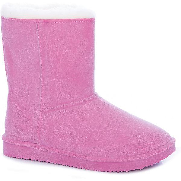 Угги Sturman для девочкиСапоги<br>Характеристики товара:<br><br>• цвет: розовый;<br>• внешний материал: 100% ПВХ (текстиль);<br>• внутренний материал: натуральная шерсть;<br>• стелька: натуральная шерсть;<br>• подошва: ПВХ;<br>• сезон: зима;<br>• температурный режим: от 0 до -20С;<br>• без застежки;<br>• высота подошвы: 1 см;<br>• непромокаемые;<br>• страна бренда: Россия;<br>• страна изготовитель: Румыния.<br><br>Зимние угги для девочки. Полностью герметичная цельнолитая модель, изготовленная из высококачественного цветного ПВХ, утепленная подкладкой из натуральной овечьей шерсти. Полная гарантия непромокаемости. Использование способа браширования поверхности обуви создает визуальную имитацию матовой натуральной замши различных цветов. Мягкая и плотная подкладка из натуральной шерсти создаст уют для ног ребенка в сырость и согреет в мороз.<br><br>Прочная, стойкая к истиранию, гибкая, облегченная подошва из высокотехнологичных полимеров гарантирует хорошую амортизацию и удобство при ходьбе, а рифленый протектор обеспечивает идеальное сцепление с поверхностью, предупреждая скольжение. Сапоги имеют жесткую форму и надежно фиксируют ногу, поддерживая стопу в правильном положении. Идеальная защита от холода, слякоти и химических реагентов.<br><br>Угги можно купить в нашем интернет-магазине.<br><br>Ширина мм: 257<br>Глубина мм: 180<br>Высота мм: 130<br>Вес г: 420<br>Цвет: розовый<br>Возраст от месяцев: 108<br>Возраст до месяцев: 120<br>Пол: Женский<br>Возраст: Детский<br>Размер: 32/33,37.5,36/37,34/35<br>SKU: 7332843