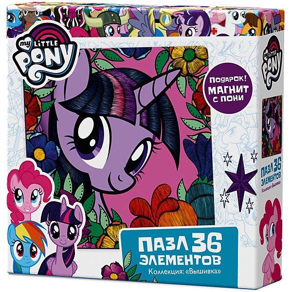 Пазл Origami My little pony 36 элементов + магнит Сумеречная ИскоркаMy little Pony<br>Характеристики товара:<br><br>• возраст: от 3 лет;<br>• пол: для девочек;<br>• герой: мои маленькие пони;<br>• комплект: пазл, магнит;<br>• количество элементов: 36 шт.;<br>• материал пазла: картон;<br>• размер упаковки: 15х15х4,5 см.;<br>• вес: 130 гр.;<br>• размер собранного пазла: 22х22 см.;<br>• упаковка: картонная коробка;<br>• страна обладатель бренда: Россия.<br><br>Из элементов пазла предлагается собрать яркую, красочную картинку с изображением любимой героини всемирно известного сериала «Дружба - это чудо».<br><br>Элементы пазла сделаны из высококачественного картона с отличной полиграфией. <br><br>В набор включен подарок - магнит с изображением героини.<br><br>Пазл можно купить в нашем интернет-магазине.<br>Ширина мм: 150; Глубина мм: 150; Высота мм: 45; Вес г: 130; Возраст от месяцев: 36; Возраст до месяцев: 2147483647; Пол: Унисекс; Возраст: Детский; SKU: 7335550;