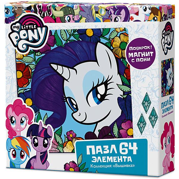 Пазл Origami My little pony 36 элементов + магнит РаритиMy little Pony<br>Характеристики товара:<br><br>• возраст: от 3 лет;<br>• пол: для девочек;<br>• герой: мои маленькие пони;<br>• комплект: элементы пазла, фигурка с магнитом;<br>• количество элементов: 64 шт.;<br>• материал пазла: картон, пластик, магнит;<br>• размер упаковки: 15х15х4,5 см.;<br>• вес: 130 гр.;<br>• размер собранного изображения: 22х22 см.;<br>• упаковка: картонная коробка;<br>• страна обладатель бренда: Россия.<br><br>Пазл «Май Литл Пони: Рарити» обязательно понравится поклоннице популярного мультсериала. <br><br>После сборки получится картинка с изображением  единорога с большими глазами и роскошной синей гривой. <br><br>В коробке ребенок найдет магнит с изображением маленькой лошадки.<br><br>Пазл можно купить в нашем интернет-магазине.<br><br>Ширина мм: 150<br>Глубина мм: 150<br>Высота мм: 45<br>Вес г: 130<br>Возраст от месяцев: 36<br>Возраст до месяцев: 2147483647<br>Пол: Унисекс<br>Возраст: Детский<br>SKU: 7335553