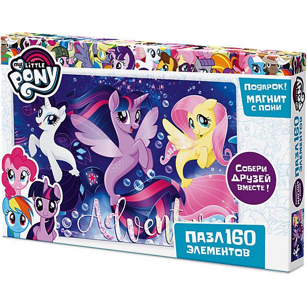 Пазл Origami My little pony 160 элементов + магнит Пинки ПайMy little Pony<br>Характеристики товара:<br><br>• возраст: от 3 лет;<br>• пол: для девочек;<br>• герой: мои маленькие пони;<br>• количество деталей: 160 шт.;<br>• комплект: элементы пазла, фигурка с магнитом;<br>• из чего сделана игрушка (состав): картон, пластик, магнит;<br>• размер упаковки: 26,5х3,5х17,5 см.;<br>• вес: 150 гр.;<br>• упаковка: картонная коробка;<br>• страна обладатель бренда: Россия.<br><br>Пазл «Май Литл Пони» от торговой марки Origami состоит из 160 элементов. <br><br>На изображении показаны герои знаменитого мультипликационного сериала Рарити, Сумеречная Искорка и Флаттершай.<br><br>В набор входит подарок в виде фигурки пони на магнитике. <br><br>Пазл можно купить в нашем интернет-магазине.<br>Ширина мм: 265; Глубина мм: 35; Высота мм: 175; Вес г: 150; Возраст от месяцев: 36; Возраст до месяцев: 2147483647; Пол: Унисекс; Возраст: Детский; SKU: 7335567;