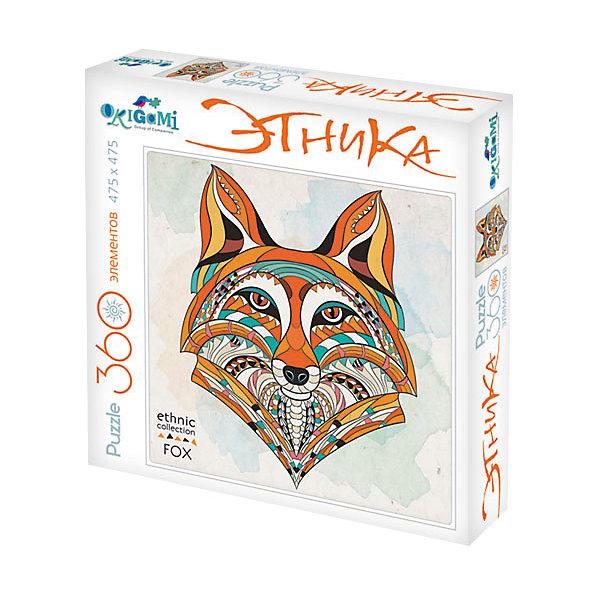 Пазл Origami Арт-терапия Лиса, 360 элементовПазлы классические<br>Характеристики товара:<br><br>• возраст: от 6 лет;<br>• пол: для девочек и мальчиков;<br>• количество деталей: 360 шт.;<br>• из чего сделана игрушка (состав): бумага, картон;<br>• размер упаковки: 24,3х24,3х4,5 см.;<br>• вес: 230 гр.;<br>• упаковка: картонная коробка;<br>• страна обладатель бренда: Россия.<br><br>Пазл яркий и стильный исполнен в этническом стиле и упакован в идеальную подарочную упаковку. <br><br>После сборки пазла получится изображение лисы.<br><br>Пазл развивает логику и мелкую моторику, а терапия творчеством помогает снять стресс и расслабляет.<br><br>Пазл можно купить в нашем интернет-магазине.<br>Ширина мм: 243; Глубина мм: 243; Высота мм: 45; Вес г: 230; Возраст от месяцев: 72; Возраст до месяцев: 2147483647; Пол: Унисекс; Возраст: Детский; SKU: 7335570;
