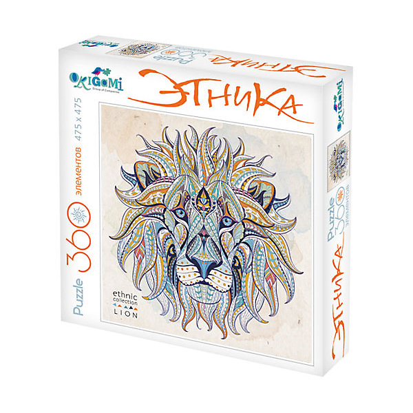 Пазл Origami Арт-терапия Лев, 360 элементовПазлы классические<br>Характеристики товара:<br><br>• возраст: от 6 лет;<br>• пол: для девочек и мальчиков;<br>• количество деталей: 360 шт.;<br>• из чего сделана игрушка (состав): бумага, картон;<br>• размер упаковки: 24,3х24,3х4,5 см.;<br>• вес: 230 гр.;<br>• упаковка: картонная коробка;<br>• страна обладатель бренда: Россия.<br><br>Пазл «Тигр» выполнен в этническом стиле. <br><br>Комплект включает в себя 360 элементов, выполненных из качественного и плотного картона. Элементы пазла легко соединяются друг с другом, а композиция сохраняет свою целостность при умеренном внешнем воздействии.<br><br>Ира в пазл поможет ребенку проявить больше усидчивости, развить логическое мышление.<br><br>Пазл можно купить в нашем интернет-магазине.<br>Ширина мм: 243; Глубина мм: 243; Высота мм: 45; Вес г: 230; Возраст от месяцев: 72; Возраст до месяцев: 2147483647; Пол: Унисекс; Возраст: Детский; SKU: 7335571;
