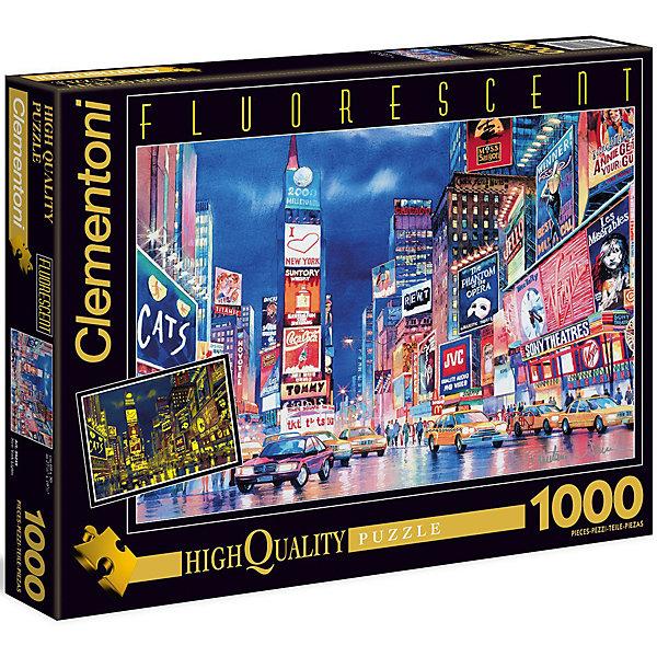 Флуоресцентный пазл Clementoni Огни Нью-Йорка, 1000 элементовПазлы классические<br>Характеристики товара:<br><br>• возраст: от 7 лет;<br>• пол: для девочек и мальчиков;<br>• количество элементов: 1000 шт.;<br>• из чего сделана игрушка (состав): картон;<br>• размер упаковки: 37х5,5х28,1 см.;<br>• вес: 875 гр.;<br>• упаковка: картонная коробка;<br>• размер собранного пазла: 69х50 см.;<br>• страна обладатель бренда: Италия.<br><br>Флуоресцентный пазл «Огни Нью-Йорка» красочное изображение известного мегаполиса, пополнит вашу коллекцию флуоресцентных пазлов. <br><br>Под действием ультрафиолетового излучения, пазл начинает светиться. <br><br>Собирание пазла развивает мелкую моторику у ребенка, тренирует наблюдательность, логическое мышление, знакомит с окружающим миром, с цветом и разнообразными формами.<br><br>Пазл «Огни Нью-Йорка» можно купить в нашем интернет-магазине.<br><br>Ширина мм: 370<br>Глубина мм: 55<br>Высота мм: 281<br>Вес г: 875<br>Возраст от месяцев: 84<br>Возраст до месяцев: 2147483647<br>Пол: Унисекс<br>Возраст: Детский<br>SKU: 7335614