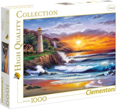Пазл Clementoni Маяк на закате , 1000 элементов