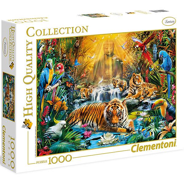 Пазл Clementoni Мистические тигры, 1000 элементовПазлы классические<br>Характеристики товара:<br><br>• возраст: от 7 лет;<br>• пол: для девочек и мальчиков;<br>• количество элементов: 1000 шт.;<br>• из чего сделана игрушка (состав): картон;<br>• размер упаковки: 37х28,1х5,8 см.;<br>• вес: 929 гр.;<br>• упаковка: картонная коробка;<br>• размер собранного пазла: 69х50 см.;<br>• страна обладатель бренда: Италия.<br><br>Пазл «Мистические тигры» состоит из множества разноцветных элементов. <br><br>Главными героями картины являются тигры и тигрята. <br><br>Пазлы данной компании изготовлены из плотного качественного картона, который не повредится при многократной сборке элементов. Поверхность итоговой картинки гладкая и приятная на ощупь.<br><br>Пазл «Мистические тигры» можно купить в нашем интернет-магазине.<br>Ширина мм: 370; Глубина мм: 281; Высота мм: 58; Вес г: 929; Возраст от месяцев: 84; Возраст до месяцев: 2147483647; Пол: Унисекс; Возраст: Детский; SKU: 7335620;