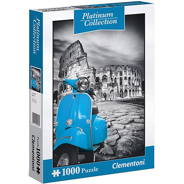 Пазл Clementoni Платиновая коллекция Колизей, 1000 элементовПазлы классические<br>Характеристики товара:<br><br>• возраст: от 7 лет;<br>• пол: для девочек и мальчиков;<br>• количество элементов: 1000 шт.;<br>• из чего сделана игрушка (состав): картон;<br>• размер упаковки: 28,1х37х5,8 см.;<br>• вес: 962 гр.;<br>• упаковка: картонная коробка;<br>• размер собранного пазла: 69х50 см.;<br>• страна обладатель бренда: Италия.<br><br>Пазл «Платиновая коллекция. Колизей» изображает мотоцикл на фоне исторического памятника архитектуры. <br><br>Серо-голубая цветовая гамма пазла придает изображению оригинальность и подчеркивает величественную старину постройки. <br><br>Пазл «Колизей» можно купить в нашем интернет-магазине.<br>Ширина мм: 281; Глубина мм: 370; Высота мм: 58; Вес г: 962; Возраст от месяцев: 84; Возраст до месяцев: 2147483647; Пол: Унисекс; Возраст: Детский; SKU: 7335627;