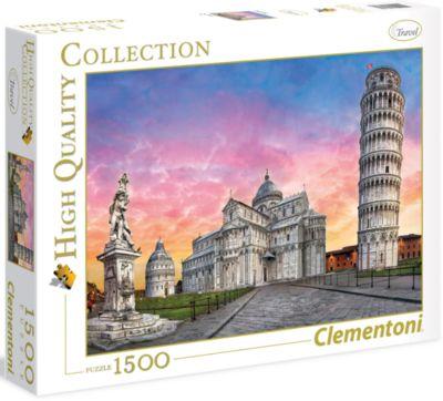 Пазл Clementoni Пизанская башня , 1500 элементов