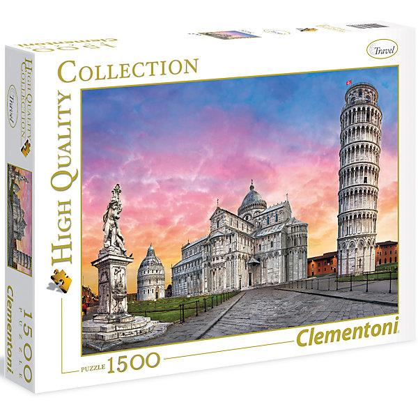 Пазл Clementoni Пизанская башня, 1500 элементовПазлы классические<br>Характеристики товара:<br><br>• возраст: от 7 лет;<br>• пол: для девочек и мальчиков;<br>• количество деталей: 1500 шт.;<br>• из чего сделана игрушка (состав): картон;<br>• размер упаковки: 37х28,1х5,5 см.;<br>• вес: 1,15 кг.;<br>• упаковка: картонная коробка;<br>• размер собранного пазла: 59,2х84,3 см.;<br>• страна обладатель бренда: Италия.<br><br>Пазл «Пизанская башня» состоит из 1500 цветных картонных элементов.<br><br>Элементы имеют качественную вырубку и оригинальные замочки. <br><br>Готовая картинка изображает легендарную Пизанскую башню которая является колокольней и частью ансамбля городского собора Санта-Мария Ассунта в городе Пиза.<br><br>Сборка пазла развлечет ребенка, но потребует внимания и усидчивости.<br><br>Пазл «Пизанская башня» можно купить в нашем интернет-магазине.<br>Ширина мм: 370; Глубина мм: 55; Высота мм: 281; Вес г: 1150; Возраст от месяцев: 84; Возраст до месяцев: 2147483647; Пол: Унисекс; Возраст: Детский; SKU: 7335633;