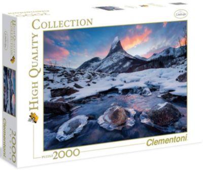 Пазл Clementoni Северная красота Норвегии , 2000 элементов