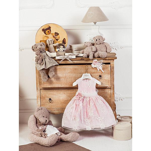 Нарядное платье Les Gamins для девочкиОдежда<br>Характеристики товара:<br><br>• цвет: розовый;<br>• состав: 55% полиэстер, 45% вискоза;<br>• подкладка: 100% хлопок;<br>• сезон: круглый год;<br>• застежка: молния на спинке;<br>• платье без рукавов;<br>• в комплекте: болеро и ободок;<br>• платье расшито узорами;<br>• страна бренда: Италия;<br>• страна изготовитель: Китай.<br><br>Нарядное платье Les Gamins для девочки. Праздничное платье из коллекции итальянских дизайнеров Les Gamins Cerimonia. Расшитое платье нежными узорами и украшенное поясом с цветком будет идеально смотреться на вашей малышке. Платье для праздника, для посещения гостей, для настроения. Ваша девочка – принцесса на балу. В комплекте с этим нежно-розовым платьем идёт ободок и болеро. Платье на хлопковой подкладке, застегивается сзади на молнию.<br><br>Нарядное платье Les Gamins для девочки можно купить в нашем интернет-магазине.<br>Ширина мм: 236; Глубина мм: 16; Высота мм: 184; Вес г: 177; Цвет: розовый; Возраст от месяцев: 12; Возраст до месяцев: 15; Пол: Женский; Возраст: Детский; Размер: 80,92,86; SKU: 7336878;