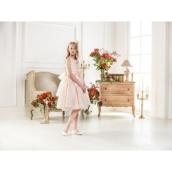 Нарядное платье Les Gamins для девочкиОдежда<br>Характеристики товара:<br><br>• цвет: розовый;<br>• состав: 55% полиэстер, 45% вискоза;<br>• подкладка: 100% хлопок;<br>• сезон: круглый год;<br>• платье без рукавов;<br>• в комплекте: болеро и ободок;<br>• украшено цветами;<br>• страна бренда: Италия;<br>• страна изготовитель: Китай.<br><br>Нарядное платье Les Gamins для девочки. Это платье навсегда станет вашим любимым платьем, оно не может не трогать. Нарядность и праздничность платья создают цветы, которыми украшены пояс и ободок, который, как и болеро входит в комплект.<br><br>Нарядное платье Les Gamins для девочки можно купить в нашем интернет-магазине.<br><br>Ширина мм: 236<br>Глубина мм: 16<br>Высота мм: 184<br>Вес г: 177<br>Цвет: розовый<br>Возраст от месяцев: 84<br>Возраст до месяцев: 96<br>Пол: Женский<br>Возраст: Детский<br>Размер: 128,164,158,152,146,140,134<br>SKU: 7337016