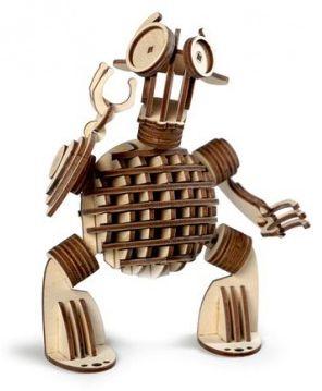 Сборная деревянная модель Lemmo Леммитс Гоша , подвижная