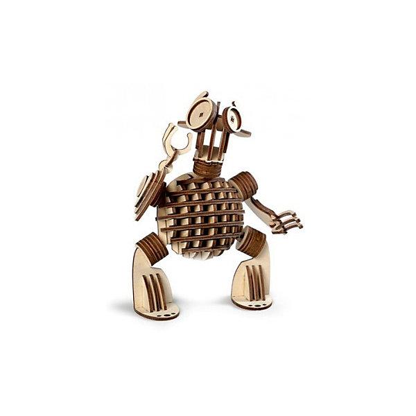 Сборная деревянная модель Lemmo Леммитс Гоша, подвижнаяДеревянные модели<br>Характеристики:<br><br>• тип игрушки: конструктор<br>• возраст: от 5 лет;<br>• количество деталей: 95 шт;<br>• комплектация: клей ПВА, наждачная бумага, подробная инструкция;<br>• размер: 22x14,5х3,5 см;<br>• вес: 230 гр;<br>• бренд: Lemmo;<br>• материал: дерево.<br><br>Конструктор 3D подвижный Lemmo «Леммитс Гоша» понравится вашим детям, а еще вы можете докупить к нему друга - леммитса Кешу, и у ваших детей будут получаться забавные и фантастические инсценировки с этими чудоковатыми существами. <br><br>Экологически чистые, развивающие конструкторы от российского производителя «Lemmo»  помогут вашему ребенку развить мелкую моторику рук, воображение, пространственное мышление, логику и предметное моделирование.<br><br>Все детали выполнены из качественной древесины и имеют сильный насыщенный запах дерева. Наборы укомплектованы клеем ПВА и наждачной бумагой. Любой конструктор после сборки можно раскрасить акриловыми и гуашевыми красками, но даже без этого в результате получается полноценная красивая игрушка с подвижными элементами.<br><br>Конструктор 3D подвижный Lemmo «Леммитс Гоша» можно купить в нашем интернет-магазине.<br>Ширина мм: 220; Глубина мм: 145; Высота мм: 35; Вес г: 230; Возраст от месяцев: 60; Возраст до месяцев: 2147483647; Пол: Унисекс; Возраст: Детский; SKU: 7338200;