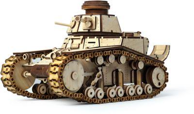 Сборная деревянная модель Lemmo Танк МС-1 , подвижная фото-1