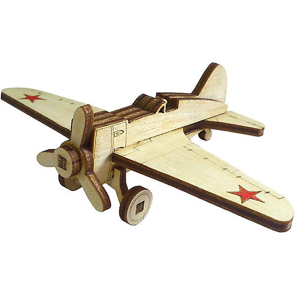 Сборная деревянная модель Lemmo Советский истребитель И-16, подвижнаяДеревянные модели<br>Характеристики:<br><br>• тип игрушки: конструктор<br>• возраст: от 5 лет;<br>• количество деталей: 9 шт;<br>• комплектация: наждачная бумага, подробная инструкция;<br>• размер: 13x8х1 см;<br>• вес: 10 гр;<br>• бренд: Lemmo;<br>• материал: дерево.<br><br>Конструктор 3D подвижный Lemmo «Советский истребитель И-16» - один из самых маленьких конструкторов у Леммо, он собирается без клея. У собранной модели вращается винт. <br><br>Экологически чистые, развивающие конструкторы от российского производителя «Lemmo» помогут вашему ребенку развить мелкую моторику рук, воображение, пространственное мышление, логику и предметное моделирование.<br><br>Все детали выполнены из качественной древесины и имеют сильный насыщенный запах дерева. Наборы укомплектованы клеем ПВА и наждачной бумагой. Любой конструктор после сборки можно раскрасить акриловыми и гуашевыми красками, но даже без этого в результате получается полноценная красивая игрушка с подвижными элементами.<br><br>Конструктор 3D подвижный Lemmo «Советский истребитель И-16» можно купить в нашем интернет-магазине.<br>Ширина мм: 130; Глубина мм: 80; Высота мм: 10; Вес г: 10; Возраст от месяцев: 60; Возраст до месяцев: 2147483647; Пол: Мужской; Возраст: Детский; SKU: 7338220;