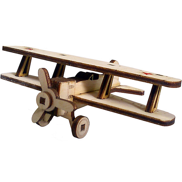 Сборная деревянная модель Lemmo Советский самолет И-15, подвижнаяДеревянные модели<br>Характеристики:<br><br>• тип игрушки: конструктор<br>• возраст: от 5 лет;<br>• количество деталей: 14 шт;<br>• комплектация: наждачная бумага, подробная инструкция;<br>• размер: 13x8х1 см;<br>• вес: 20 гр;<br>• бренд: Lemmo;<br>• материал: дерево.<br><br>Конструктор 3D подвижный Lemmo «Советский самолет И-15» - один из самых маленьких конструкторов у Леммо, он собирается без клея. У собранной модели вращается винт. <br><br>Экологически чистые, развивающие конструкторы от российского производителя «Lemmo» помогут вашему ребенку развить мелкую моторику рук, воображение, пространственное мышление, логику и предметное моделирование.<br><br>Все детали выполнены из качественной древесины и имеют сильный насыщенный запах дерева. Наборы укомплектованы клеем ПВА и наждачной бумагой. Любой конструктор после сборки можно раскрасить акриловыми и гуашевыми красками, но даже без этого в результате получается полноценная красивая игрушка с подвижными элементами.<br><br>Конструктор 3D подвижный Lemmo «Советский самолет И-15» можно купить в нашем интернет-магазине.<br>Ширина мм: 130; Глубина мм: 80; Высота мм: 10; Вес г: 20; Возраст от месяцев: 60; Возраст до месяцев: 2147483647; Пол: Мужской; Возраст: Детский; SKU: 7338221;