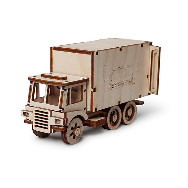 Сборная деревянная модель Lemmo Фургон. ЧИП, подвижнаяДеревянные модели<br>Характеристики:<br><br>• тип игрушки: конструктор<br>• возраст: от 5 лет;<br>• количество деталей: 49 шт;<br>• комплектация: наждачная бумага, подробная инструкция, клей ПВА;<br>• размер: 21,5x10,5х3 см;<br>• вес: 300 гр;<br>• бренд: Lemmo;<br>• материал: дерево.<br><br>Конструктор 3D подвижный Lemmo «Фургон ЧИП» - великолепная модель для склейки и сборки. У собранной модели вращаются колеса, открываются дверцы фургона. Как и все модели Lemmo ребенок сможет его самостоятельно собрать, покрасить, разрисовать в любимые цвета и играть. <br><br>Экологически чистые, развивающие конструкторы от российского производителя «Lemmo» помогут вашему ребенку развить мелкую моторику рук, воображение, пространственное мышление, логику и предметное моделирование.<br><br>Все детали выполнены из качественной древесины и имеют сильный насыщенный запах дерева. Наборы укомплектованы клеем ПВА и наждачной бумагой. Любой конструктор после сборки можно раскрасить акриловыми и гуашевыми красками, но даже без этого в результате получается полноценная красивая игрушка с подвижными элементами.<br><br>Конструктор 3D подвижный Lemmo «Фургон ЧИП» можно купить в нашем интернет-магазине.<br><br>Ширина мм: 215<br>Глубина мм: 105<br>Высота мм: 30<br>Вес г: 300<br>Возраст от месяцев: 60<br>Возраст до месяцев: 2147483647<br>Пол: Унисекс<br>Возраст: Детский<br>SKU: 7338222