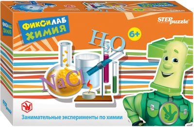 Степ Пазл Развивающая Игра Step Puzzle Фиксилаб. Химия