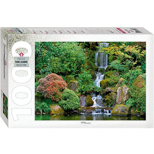 Пазл Step Puzzle Водопад в японском саду, 1000 элементовПазлы классические<br>Характеристики товара:<br><br>• возраст: от 7 лет;<br>• количество деталей: 1000;<br>• размер собранной картины: 68х48 см.;<br>• материал: картон;<br>• размер упаковки: 40x27x5,5 см.;<br>• упаковка: картонная каробка;<br>• бренд, страна производства: STEP puzzle, Россия.<br>                                                                                                                                                                                                                                                                                                                       <br>Пазл «Водопад в японском саду», состоящий из 1000 элементов, придется по душе всей вашей семье. Собрав этот пазл, вы получите живописный пейзаж с изображением водопада в японском саду.<br><br>Пазл выполнен из высококачественных материалов, что обеспечивает идеальное прилегание элементов друг к другу. Готовую картину можно склеить, вставить в рамку и повесить на стену.<br><br>Собирание пазлов это не только интересно, но и полезно: ведь в процессе создания картинки развивается мелкая моторика, тренируются наблюдательность и логическое мышление.<br><br>Пазл «Водопад в японском саду», 1000 деталей можно купить в нашем интернет-магазине.<br><br>Ширина мм: 330<br>Глубина мм: 215<br>Высота мм: 55<br>Вес г: 620<br>Возраст от месяцев: 84<br>Возраст до месяцев: 2147483647<br>Пол: Унисекс<br>Возраст: Детский<br>SKU: 7338376