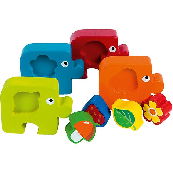 Купить Пазл-сортер Step Puzzle Baby Step Растения , Степ Пазл, Россия, Унисекс