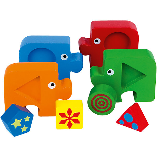 Купить Пазл-сортер Step Puzzle Baby Step Формы , Степ Пазл, Россия, Унисекс
