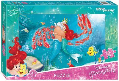 —теп ѕазл ѕазл Maxi Step Puzzle Disney ѕринцессы. –усалочка-2 , 35 элементов