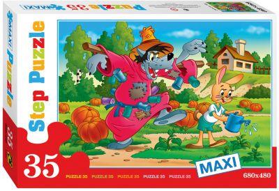 Степ Пазл Пазл Maxi Step Puzzle Ну, погоди! , 35 элементов